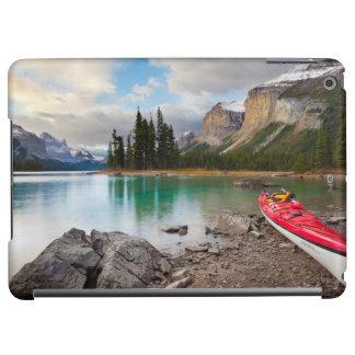 A sea kayak ashore at Spirit Island iPad Air Case