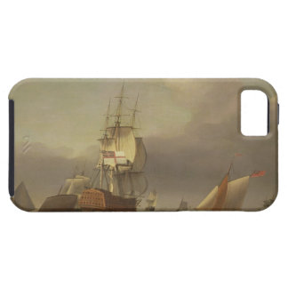 A Seascape with Men-of-War and Small Craft (oil on iPhone 5 Covers