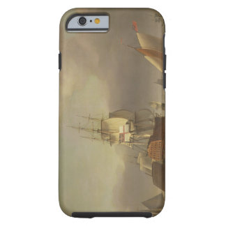 A Seascape with Men-of-War and Small Craft (oil on Tough iPhone 6 Case