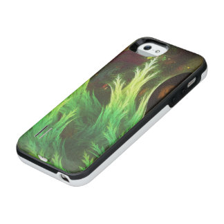 A Seaweed's DeepDream of Faded Fractal Fall Colors iPhone SE/5/5s Battery Case