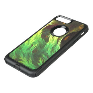 A Seaweed's DeepDream of Faded Fractal Fall Colors OtterBox Commuter iPhone 8 Plus/7 Plus Case