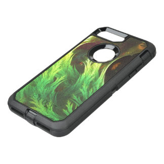 A Seaweed's DeepDream of Faded Fractal Fall Colors OtterBox Defender iPhone 8 Plus/7 Plus Case