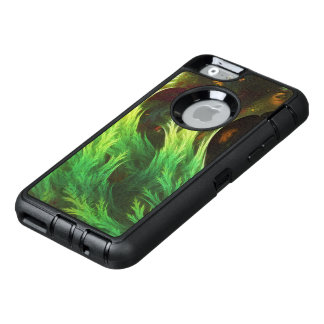 A Seaweed's DeepDream of Faded Fractal Fall Colors OtterBox Defender iPhone Case