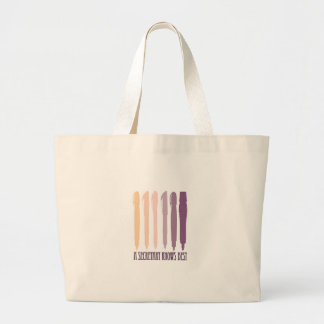 A Secretary Knows Best Tote Bags
