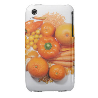 A selection of orange fruits & vegetables. Case-Mate iPhone 3 cases