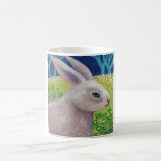A SERIOUS KIND OF EASTER RABBIT CLASSIC WHITE COFFEE MUG