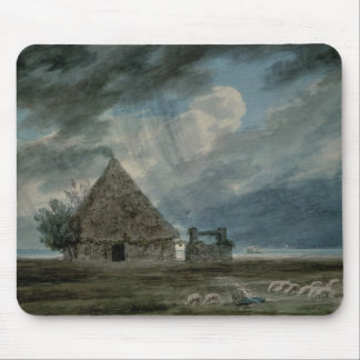 A Shepherd's Hut between Naples and Portici (w/c) Mouse Pad