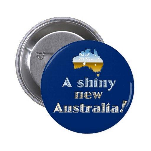 A Shiny New Australia Buttons