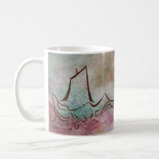 A Ship Goes Sailing By Coffee Mug