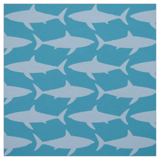A Shiver Of Sharks Fabric