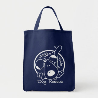 A shopping tote to help homeless dogs