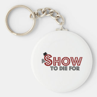 A Show To Die For logo keyring