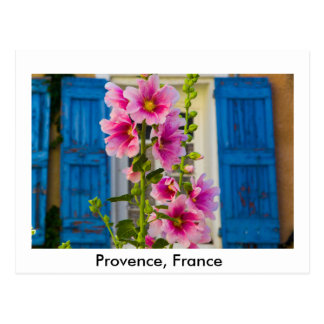 A Shutter in Provence, France Postcard
