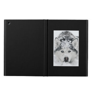 A Siberian Husky Called Alpha iPad Air Case