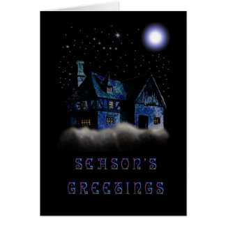 A Silent Night - Personalized Card