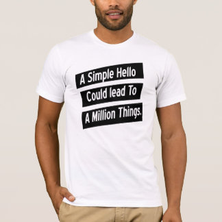 A Simple Hello T-Shirt