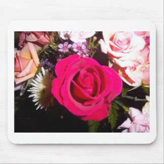 A Simple Rose Mouse Pad
