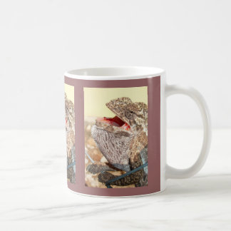 a Singing Chameleon Coffee Mug
