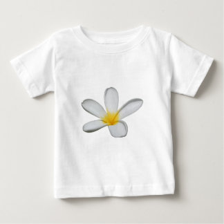 A Single Plumeria Flower Isolated Baby T-Shirt