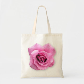 a single rose budget tote bag