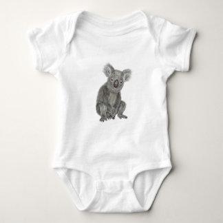 A Sitting Koala Baby Bodysuit