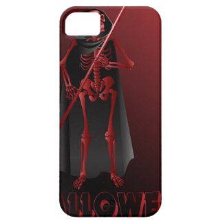 A skeleton with a scythe Happy Halloween 2 iPhone 5 Cases