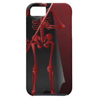 A skeleton with a scythe Happy Halloween 2 iPhone 5 Covers