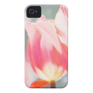 A Sketch of Tulipa Duo iPhone 4 Case-Mate Cases