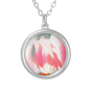 A Sketch of Tulipa Duo Silver Plated Necklace
