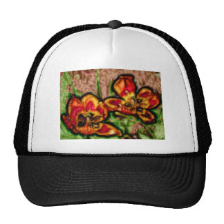 A Sketch of Tulipa Duo Trucker Hat