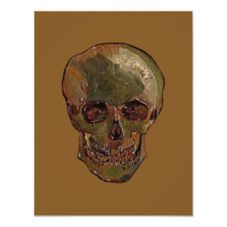 A Skull by Vincent van Gogh Card