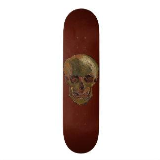 A Skull by Vincent van Gogh Skate Deck