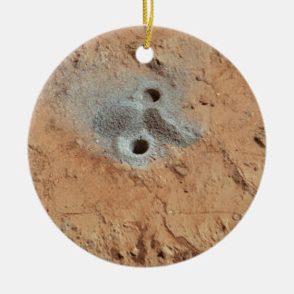 A Skull On Mars? Ceramic Ornament
