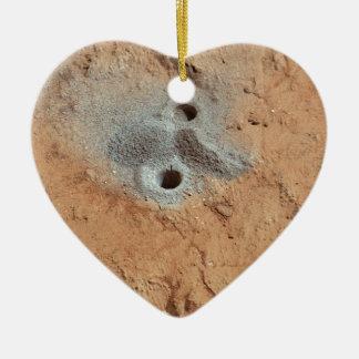 A Skull On Mars? Ceramic Ornament