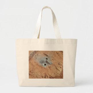 A Skull On Mars? Large Tote Bag
