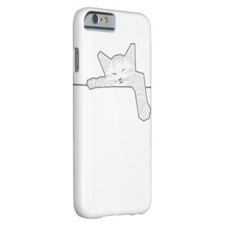 A sleeping cat barely there iPhone 6 case
