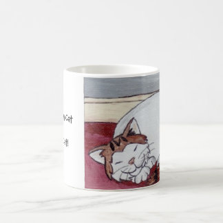 A Sleeping Cat is a Happy Cat! Coffee Mug