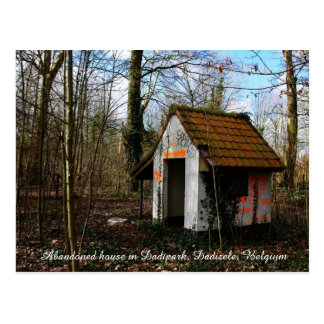 A small abandoned house in Dadipark Postcard