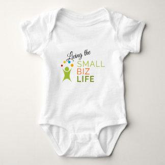 A Small Biz Life podcast branded baby bodysuit