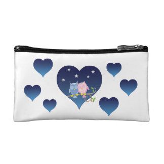 A small cute cosmetic bag