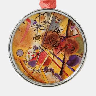 A Small Dream In Red Silver-Colored Round Ornament