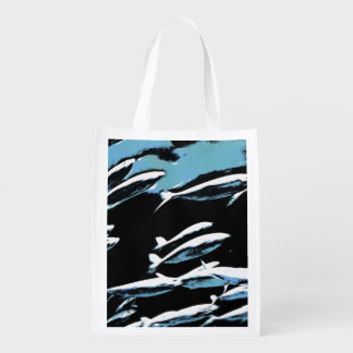 A small school of fish grocery bags