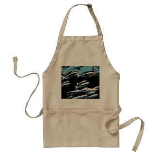 A small school of fish standard apron