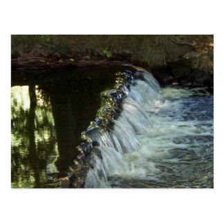 A Small Waterfall Step Postcard