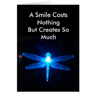 A Smile Costs Nothing Card
