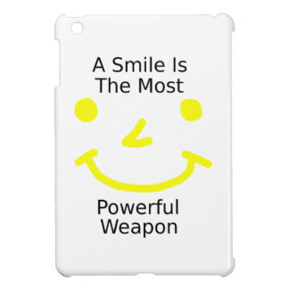 A Smile Is The Most Powerful Weapon (Smiley Face) Case For The iPad Mini