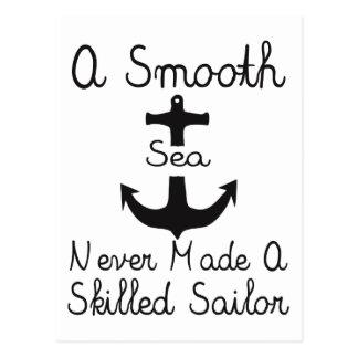 A Smooth Sea Postcard