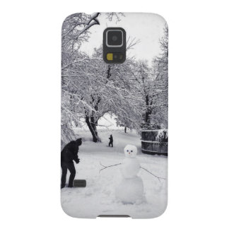 A Snowball Fight In Central Park Galaxy S5 Covers