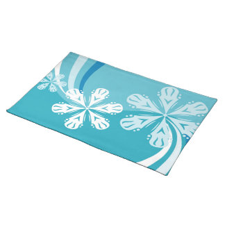 A Snowflake Storm Placemat