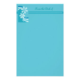 A Snowflake Storm Stationery